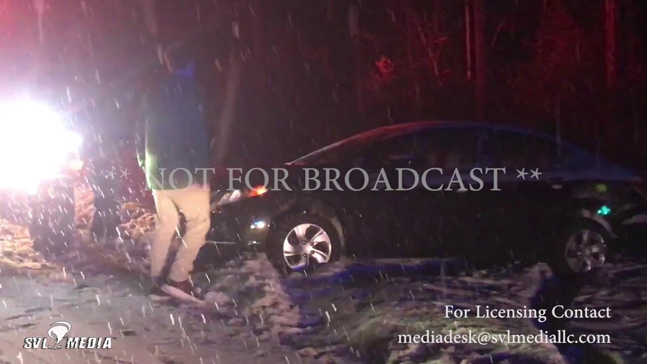 Portland, Maine I-95 and Rt 9 Accident Rescue / Plows 01-16-2018