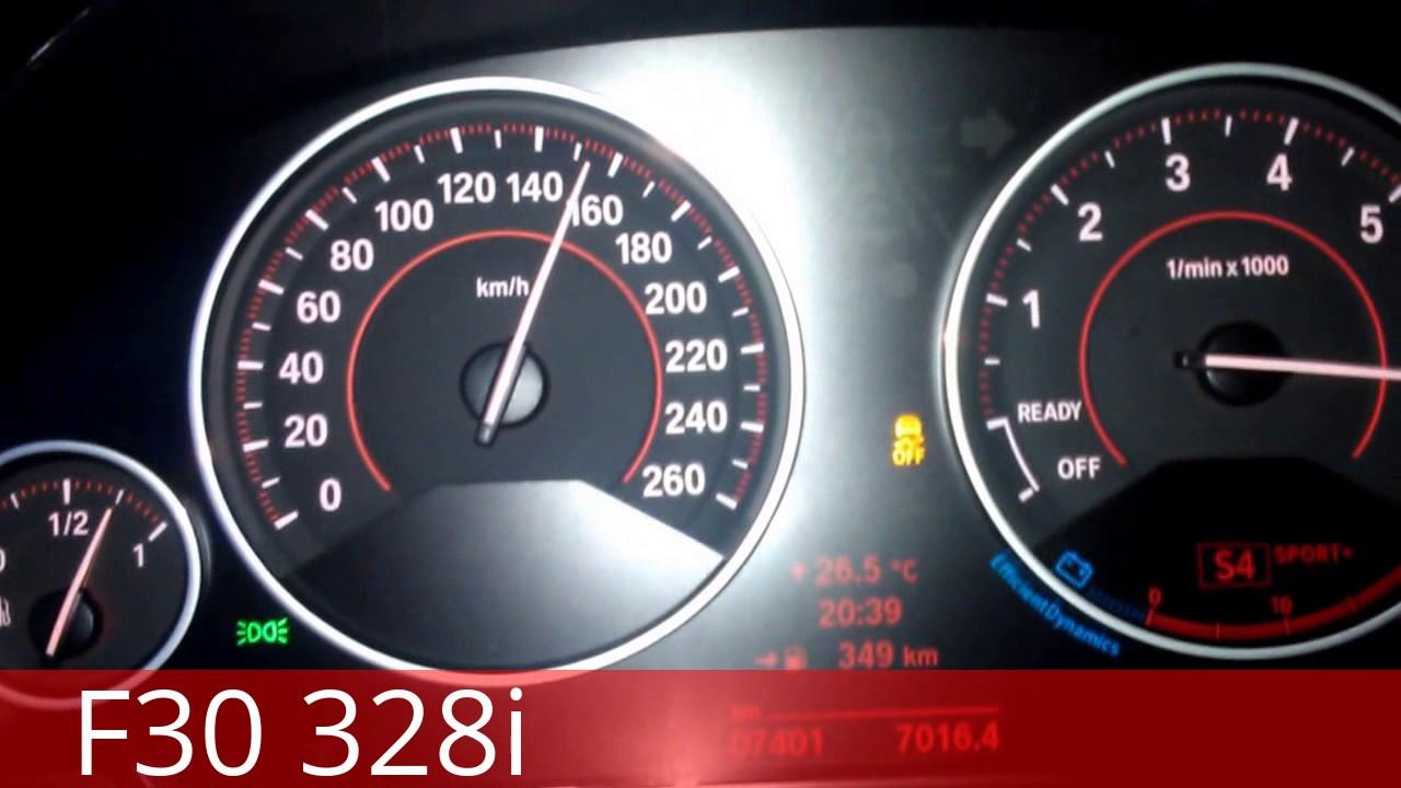 BMW F30 328i sport acceleration 0100 0200 STOCK  YouTube