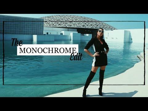 'The Monochrome Edit' | The Louvre Abu Dhabi