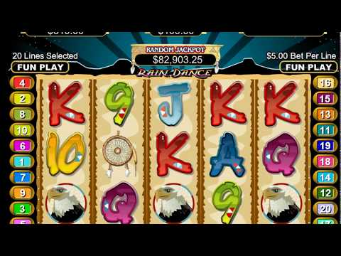 Rain Dance Slot - New Online Casinos - Play with FREE $1000 No Deposit Needed