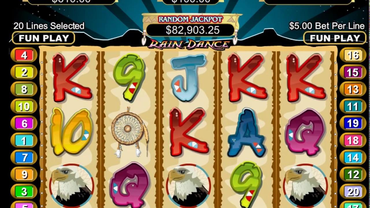 Rain Dance Slot Machine