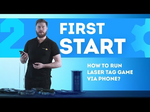 How To Operate The Laser Tag Equipment Via Smartphone? [part 2]