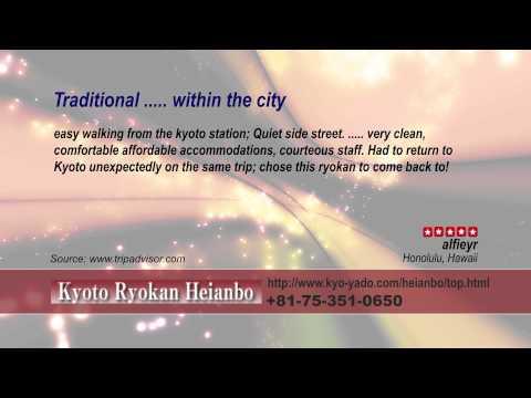 Ryokan Heianbo - REVIEWS - Kyoto Ryokan & Onsen Kyoto Reviews