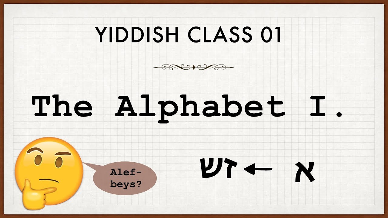 pictures How to Learn Yiddish