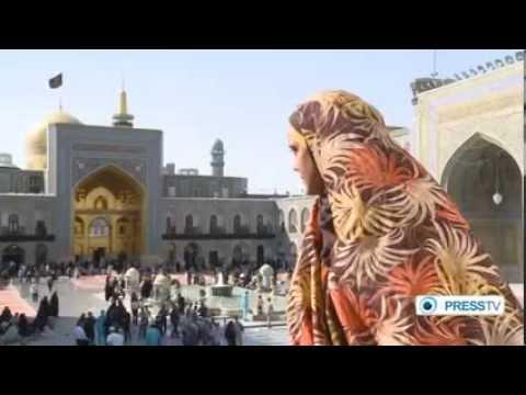 IRAN   The city of Mashhad (Holly Shrine of Imam Reza)