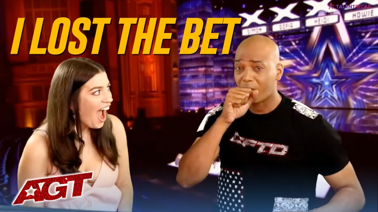HOSTS ALMOST VOMITS ON AIR After Losing America's Got Talent Bet!