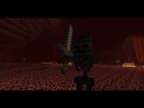 MineCraft 1.4 Snapshot 12w36a Wither Skeleton