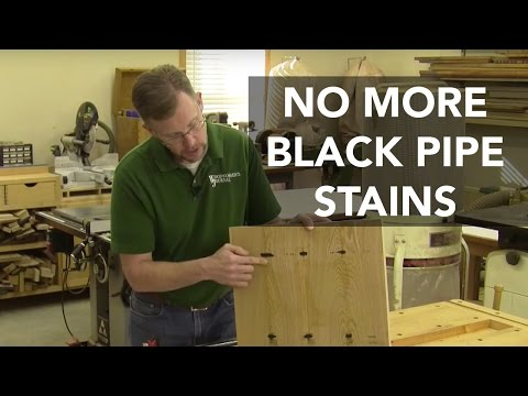 Preventing Black-Pipe Clamp Stains