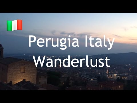 Perugia in a Day - Italy - Wanderlust