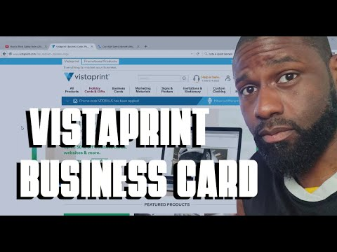 Vistaprint business card review premium gloss youtube vistaprint business card review premium gloss reheart Images