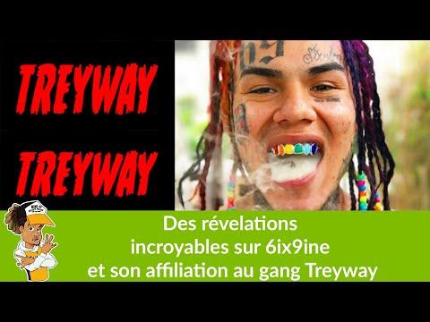 Des révélations incroyable sur 6ix9ine et son affiliation au gang Trey Way