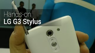 Hands-on: LG G3 Stylus | Tudocelular.com