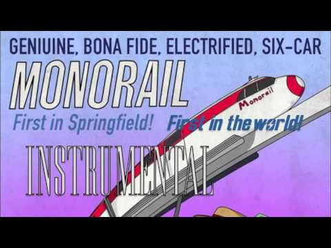 Simpsons Monorail Song INSTRUMENTAL - 600 sub special!