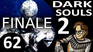 Let's Play Dark Souls 2 Part 62 FINALE - Nashandra Boss, Vendrick, Giant Lord (Cleric, Blind)