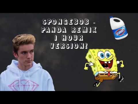 SPONGEBOB   PANDA REMIX 1 HOUR VERSION!