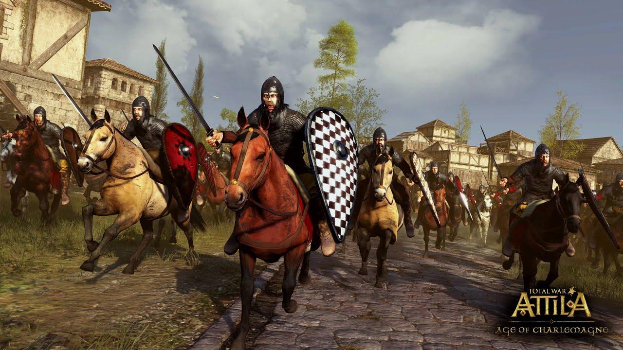 Attila Total War Wallpaper: La Época De Carlomagno - Attila Total
