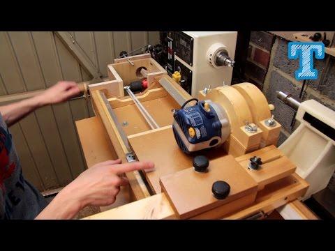 Homemade Router Spiral Cutting Jig: How It's Built