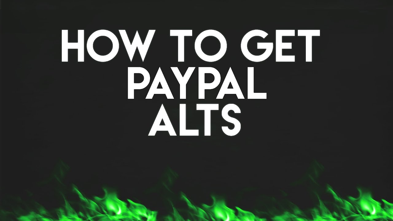 HOW TO GET FREE PAYPAL ACCOUNTS | SENTRY MBA #1