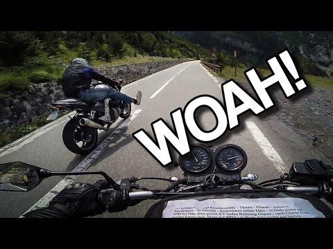 THOSE CRAZY ITALIANS! (Stelvio pass) [RAW Onboard]