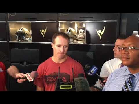 Drew Brees talks about Mark Ingram becoming Saints No. 2 all-time rusher