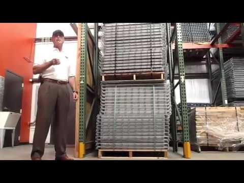 , Drive-In Pallet Rack System