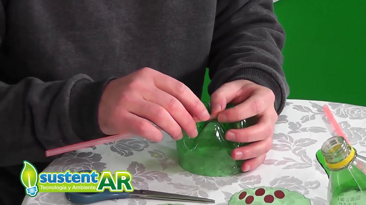 Juguetes Botellas De Con Reciclados Dibujos