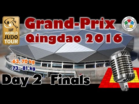 Judo Grand-Prix Qingdao 2016: Day 2 - Final Block