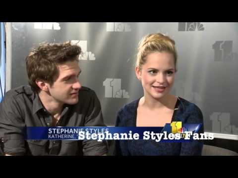 Dan Deluca and Stephanie Styles talk Newsies with WBAL 11 in Baltimore