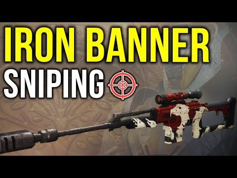 What happens when a top 1% player uses a LOW LEVEL Sniper in Iron Banner... (Destiny 2)