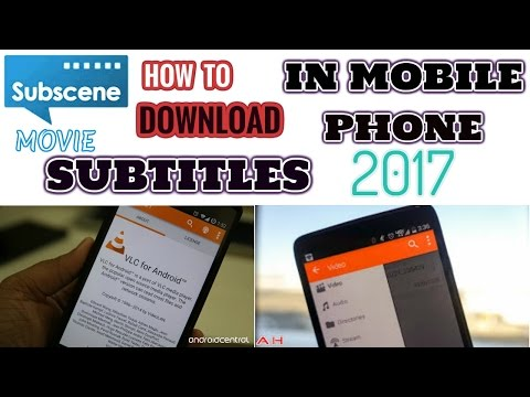 How To Download Movie Subtitles In Mobile Phone 2017 - YouTube