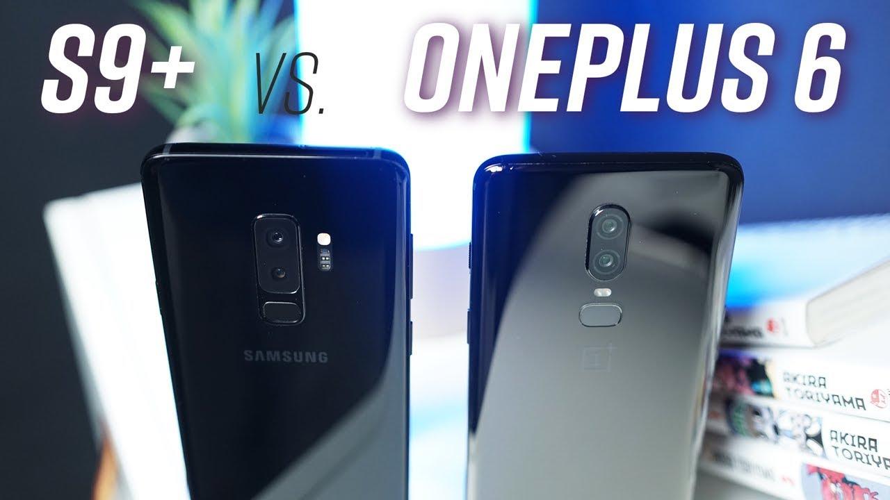 So sánh chi tiết Galaxy S9+ vs OnePlus 6