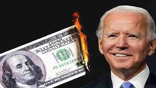 Joe Biden esta QUEIMANDO o DOLAR $$