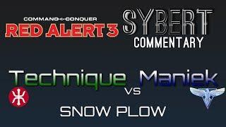 technique e vs maniek a snow plow red alert 3