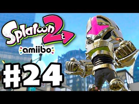 Splatoon 2 - Gameplay Walkthrough Part 24 - Amiibo Power Gear! (Nintendo Switch)
