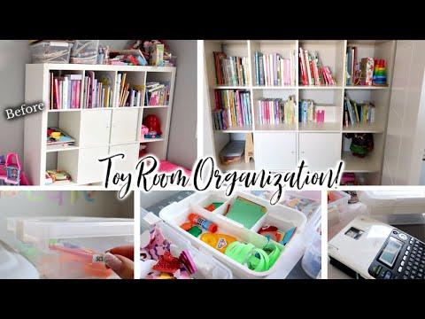 Toy Storage & Play Room Organization Ideas! | Organize With Me