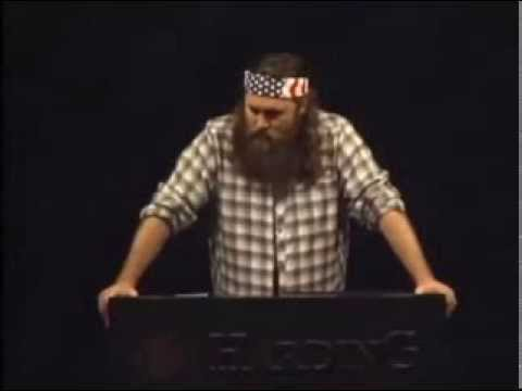Duck Dynasty's Willie Robertson Speaks at Harding University
