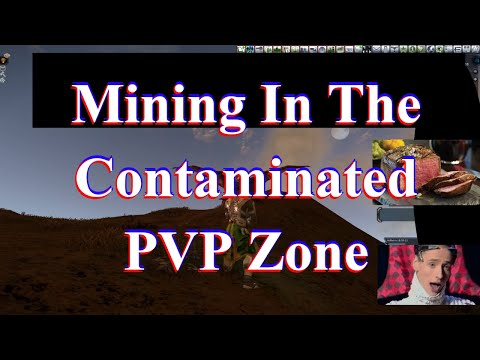 Mining In The Contaminated PVP Zone - Freaking Out