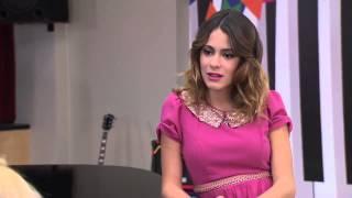 Violetta 2 - Ludmila y Vilu cantan Si Es Por Amor