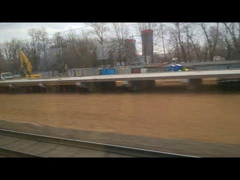 5 апреля 2019 от Апрелевки до Киевского вокзала