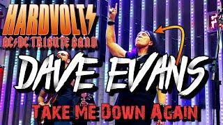 DAVE EVANS & HARDVOLTS - Take Me Down Again LIVE in Hard Rock Cafe Fortaleza
