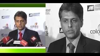 Shri Manish Tewari at the International Advertising Association's 1st IAA Leadership Awards function