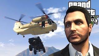 OB & I Broke Into Prison with a Cargobob & Escaped in GTA 5 Online! - GTA V Funny Moments