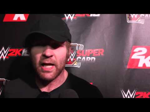 Dean Ambrose Interview  On WWE 2K16, Roman Reigns, turning heel & relationship with Renee Young!!