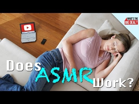 ASMR: 'Brain Orgasms' on YouTube