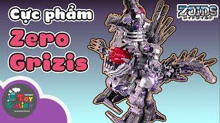 Break the little Zoids on the pedestal, Zero Phantoth and the ultimate superman, Zero Grizis ToyStation 572
