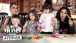 Snooki & JWoww Teach Their Daughters To Be Badass | Moms with Attitude | MTV