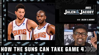 Jalen Rose's keys to the Suns taking a 3-1 series lead over the Bucks in the Finals