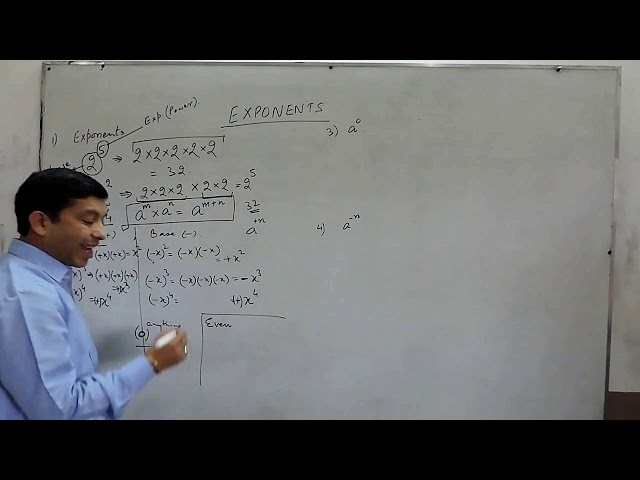 Powers and Exponents?The best Explanation for NCERT/CBSE Maths