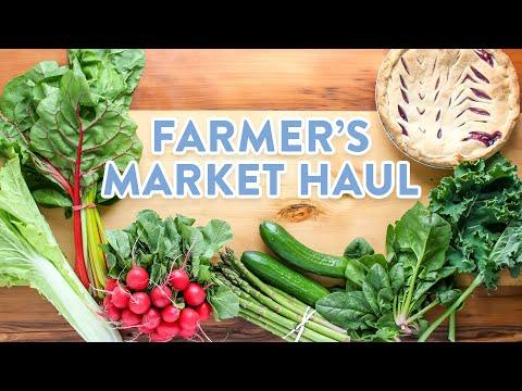 Healthy Grocery Haul | Farmers Market Haul
