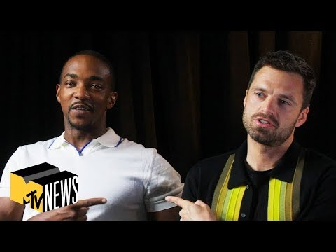 Anthony Mackie & Sebastian Stan Talk 'Endgame', Falcon, Winter Soldier & Tom Holland | MTV News